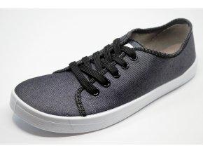 Anatomic All In A02 šedo-bílé plátěné boty