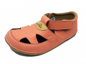 Barefoot Pegres sandály lososové BF20