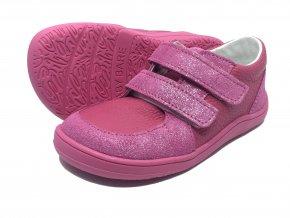Baby Bare Shoes FEBO Youth Fuchsia celoroční boty