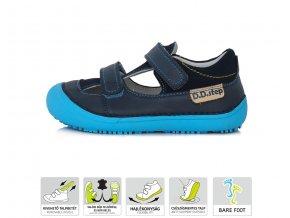 D.D.Step Bare Feet dětské sandály 063-237