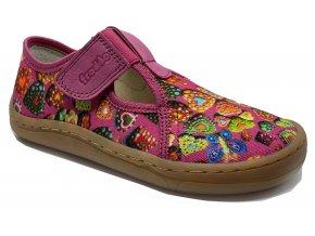 Froddo Barefoot bačkory fuchsia G1700303-1