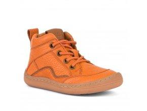 Froddo Barefoot celoroční kotníčkové orange (G3110189-1)