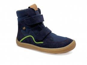 Froddo Barefoot zimní s membránou dark blue (G3160164-6)
