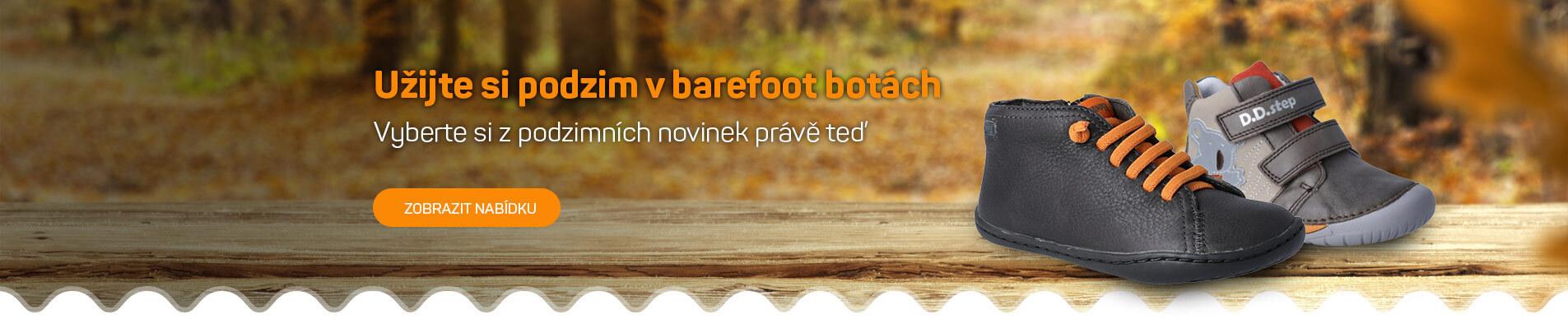 Podzimní kolekce Bosonožky