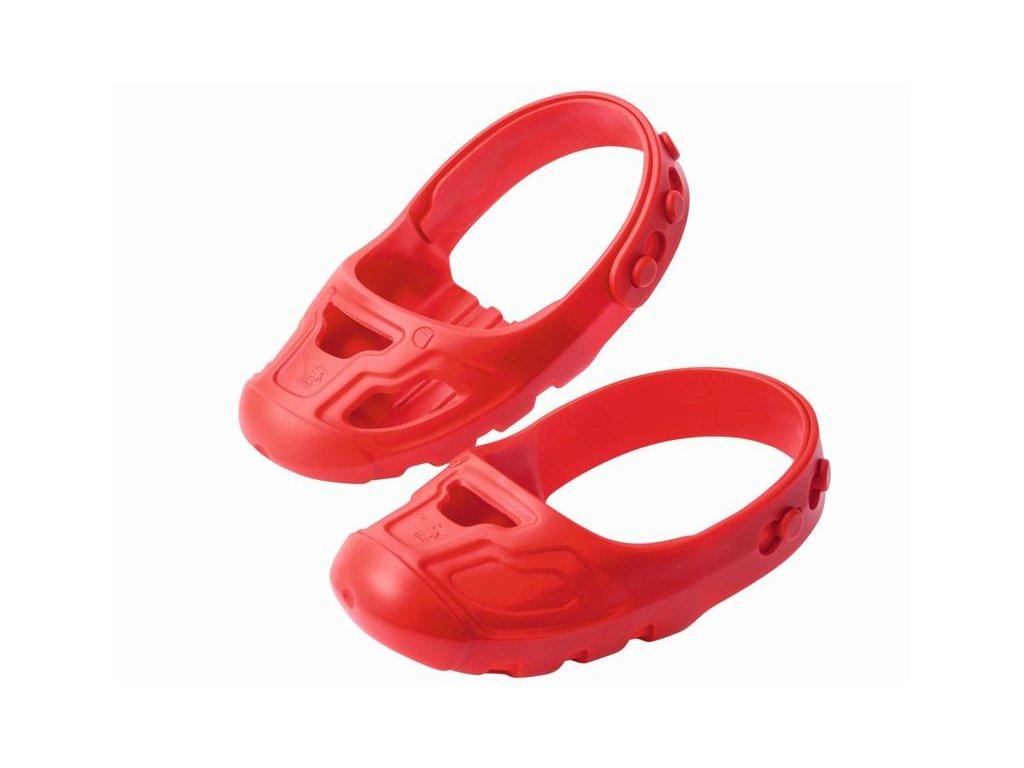 50d9a5310 Chrániče na obuv big-shoe-care - červené   Bosonožka