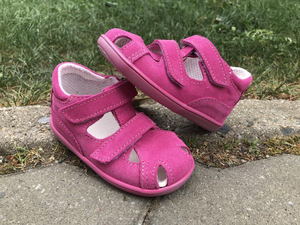 403517daa4a Jonap 041 Sandály růžové - bosonožka