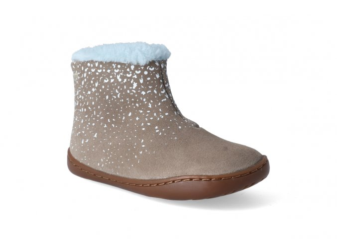 barefoot zimni obuv camper tws firstwalkers afelpado grey 2