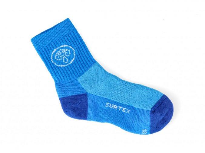 ponozky surtex active 80 merino modre 2