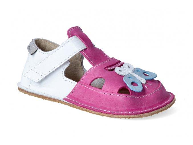 barefoot sandalky orto ithaka motyl 2
