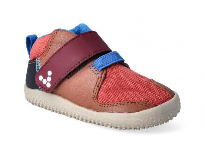 barefoot kotnikova obuv vivobarefoot primus bootie terracotta 3