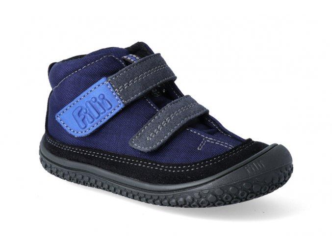 barefoot kotnikova obuv filii viper vegan tex fleece ocean m 2