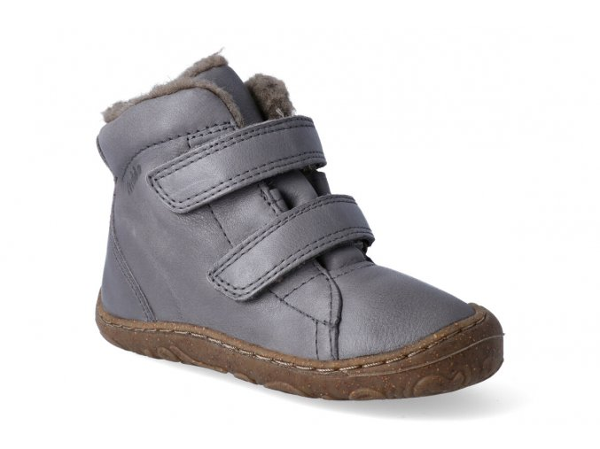 zimni obuv froddo barefoot wool grey 3