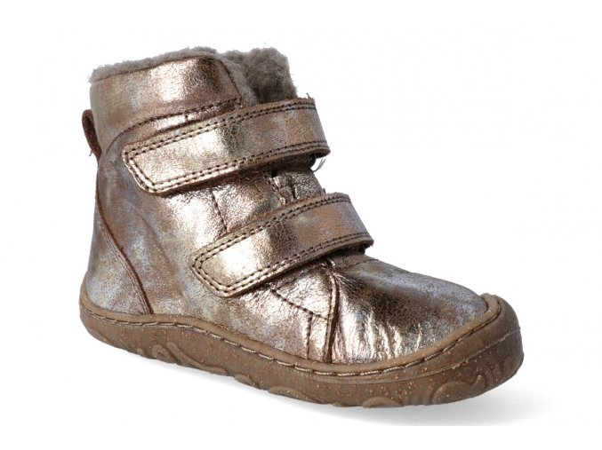 zimni obuv froddo barefoot wool gold 3