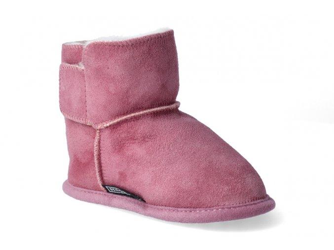 zimni obuv bergstein fox rosa 3