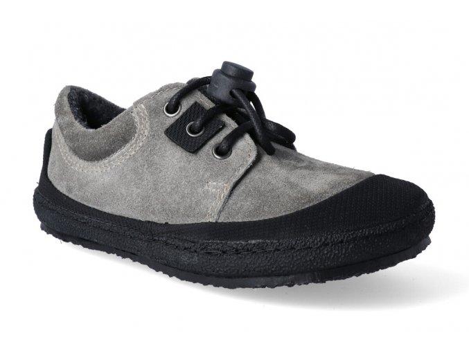 barefoot tenisky sole runner pan grey black 3