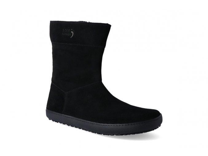 barefoot polobotky sole runner larissa black 2 3