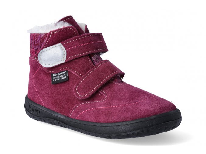 barefoot zimni obuv s membranou jonap b5 vinova 3