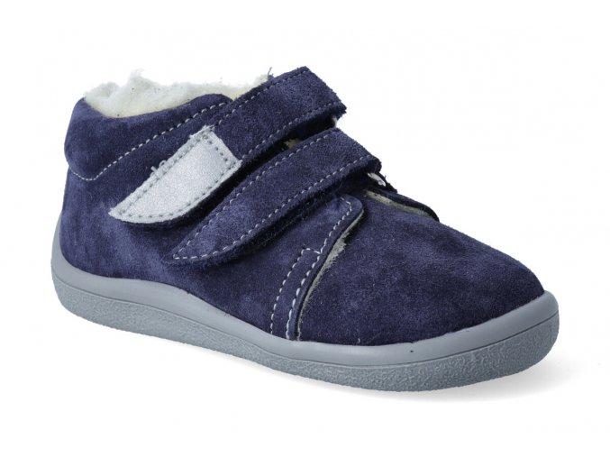 barefoot zimni kotnikova obuv s membranou beda lucas 2