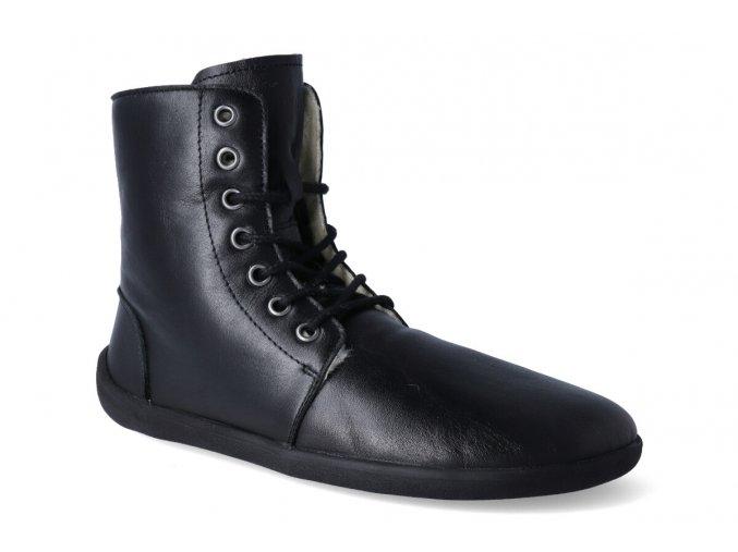 zimni barefoot obuv be lenka winter black 3