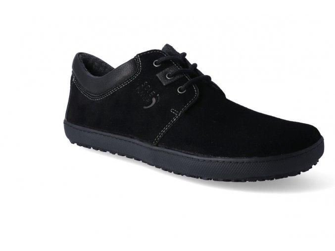 barefoot zateplena obuv sole runner kari black 2