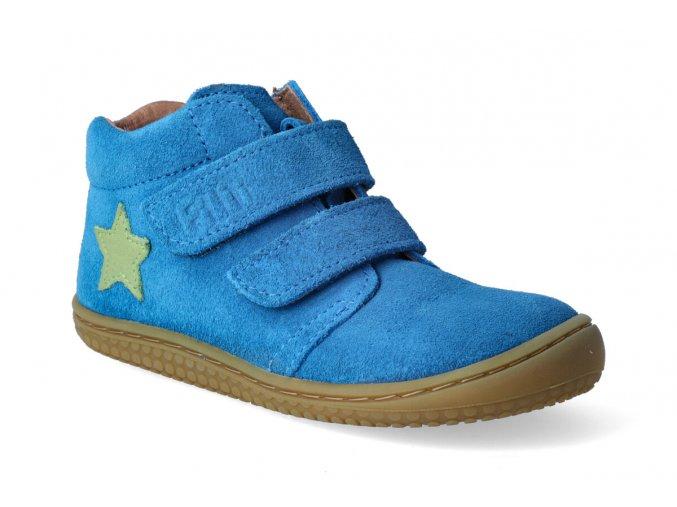 barefoot kotnikova obuv filii chameleon electric blue m 2 3