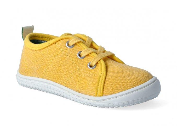 barefoot tenisky filii maui canvas vegan citrone m 3