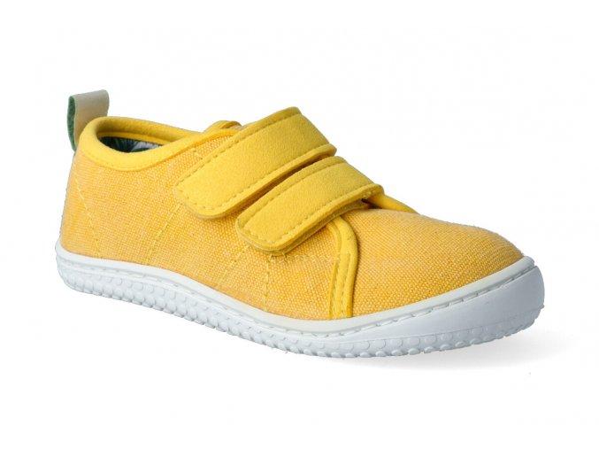 barefoot tenisky filii o ahu canvas vegan citrone m 2