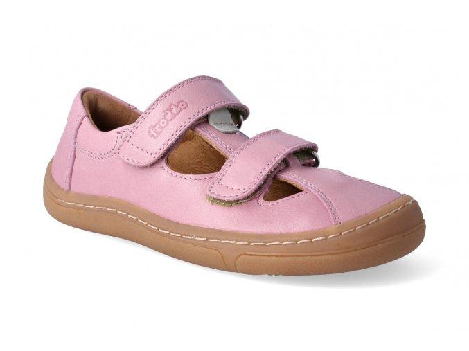 barefoot sandalky froddo bf pink 2