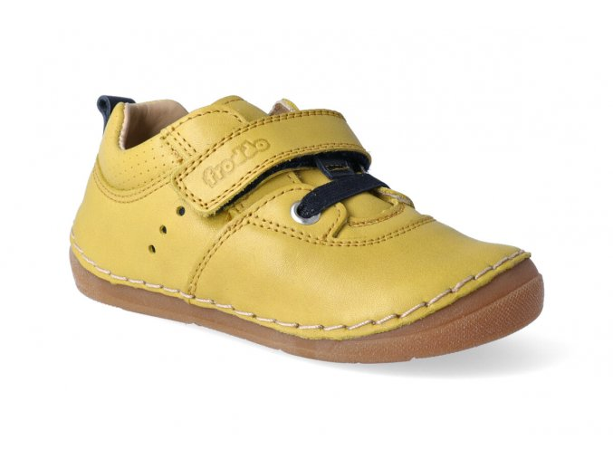 tenisky froddo flexible sneakers yellow tkanicka 3