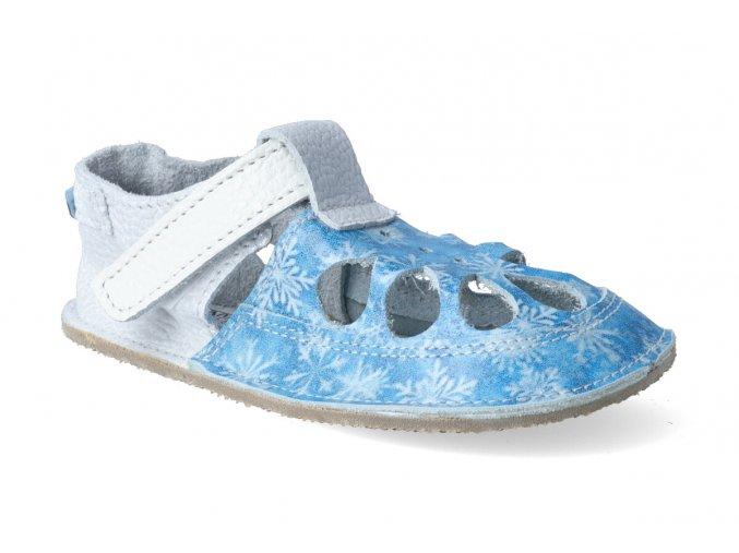 barefoot sandalky baby bare io snowflake letni 3