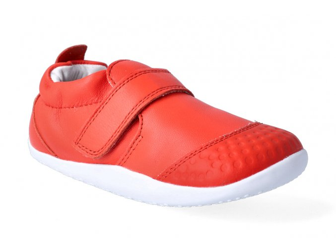 barefoot capacky bobux xplorer go trainer orange 3