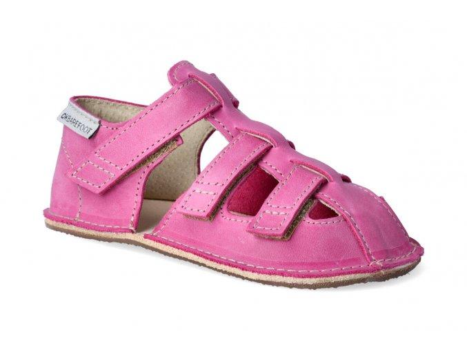 barefoot sandalky orto maya fuchsiove 2