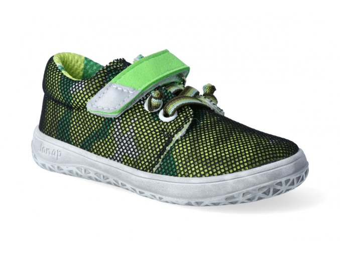 barefoot tenisky jonap b7 zelena letni 2