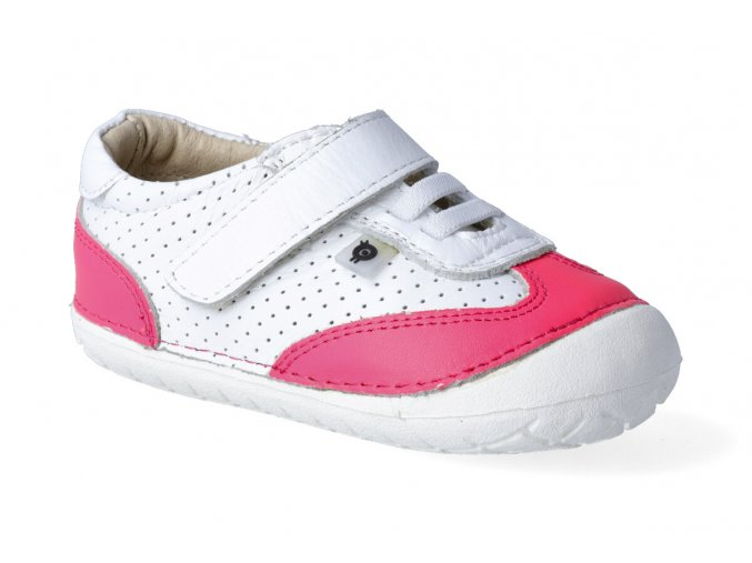 barefoot tenisky oldsoles prize pave snow neon pink 3