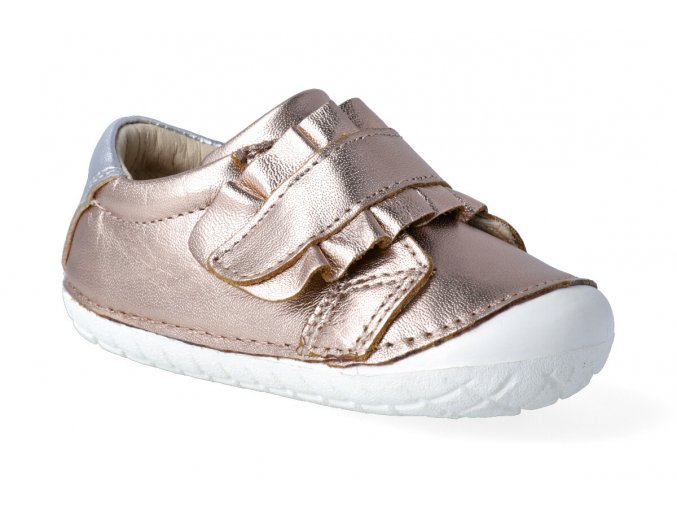 barefoot tenisky oldsoles frill pave copper silver 2