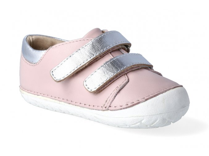 barefoot tenisky oldsoles insta kick powder pink silver 3