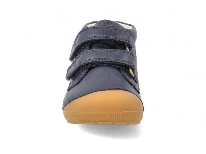barefoot kotnikova obuv bundgaard petit velcro night sky 3