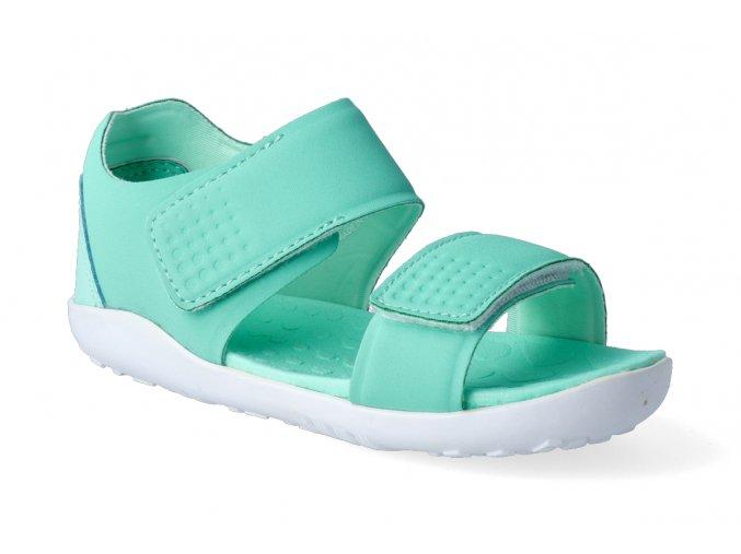 barefoot sandaly bobux scuba peppermint 3