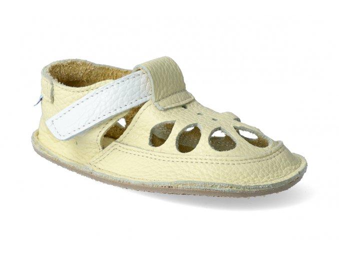 barefoot sandalky baby bare io canary letni 2