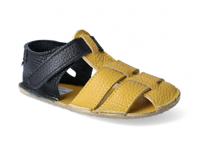 barefoot sandalky baby bare sandals new ananas paskove 2