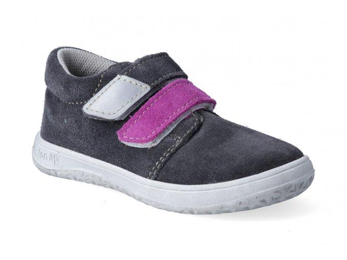 barefoot tenisky jonap b1 sedo fialova 3
