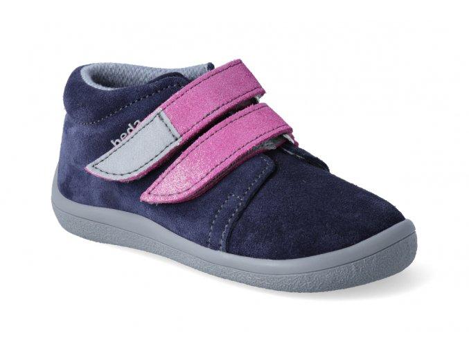 barefoot kotnikova obuv s membranou beda ocean shine 3