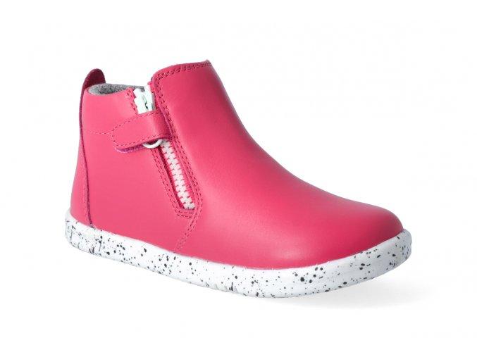 kotnikova obuv bobux tasman boot strawberry 3