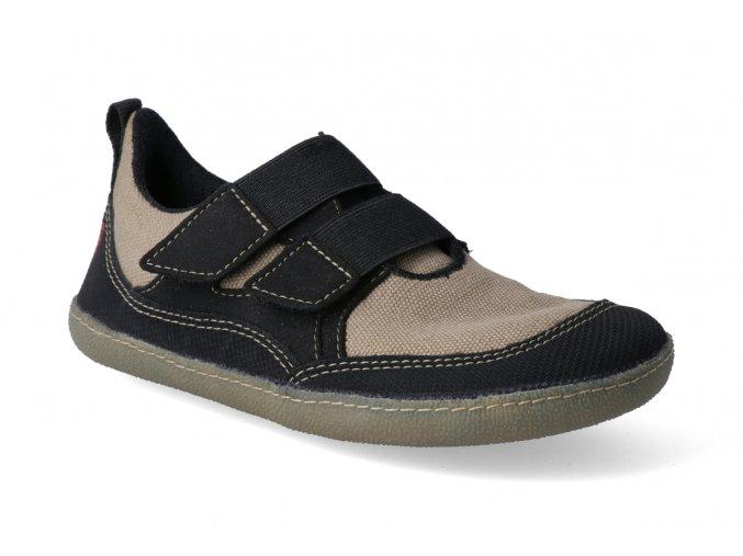 barefoot tenisky sole runner puck sand black 2
