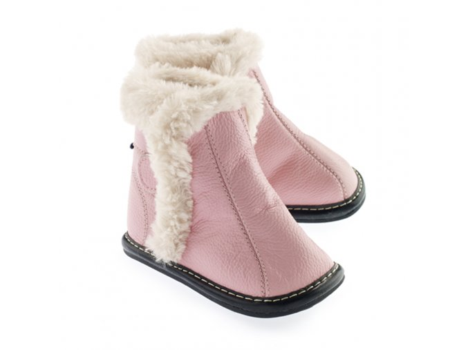 Barefoot zimní obuv Jack & Lily - Abigail