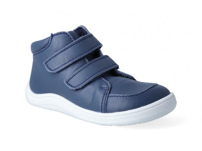 barefoot kotnikova obuv s membranou baby bare febo fall navy 2