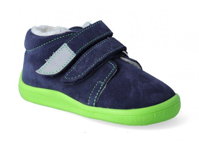 barefoot zimni kotnikova obuv s membranou beda marcus 3