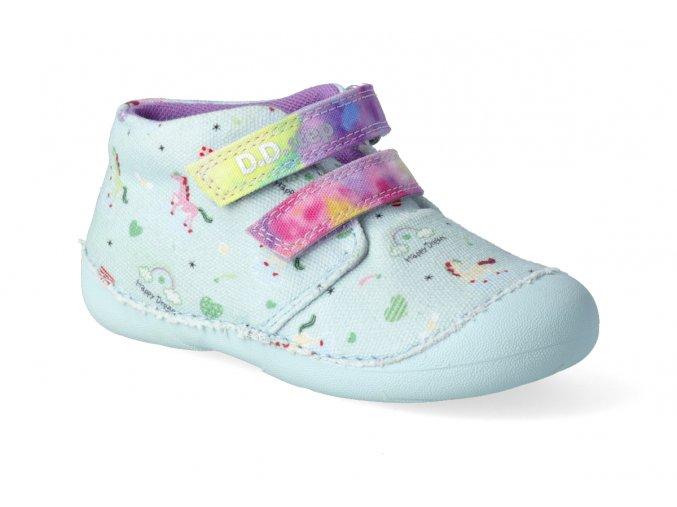 textilni kotnikova obuv d d step c015 822a mint 2
