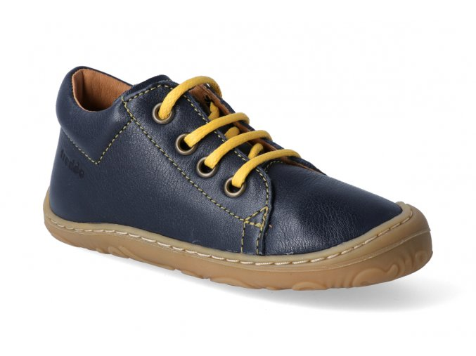 kotnikova obuv froddo narrow dark blue tkanicka 3