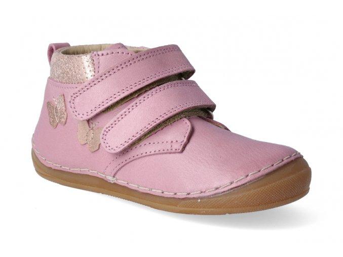kotnikova obuv froddo flexible pink s aplikaci 4 2